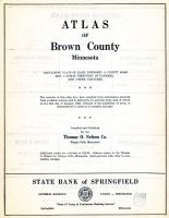 Title Page, Brown County 1953